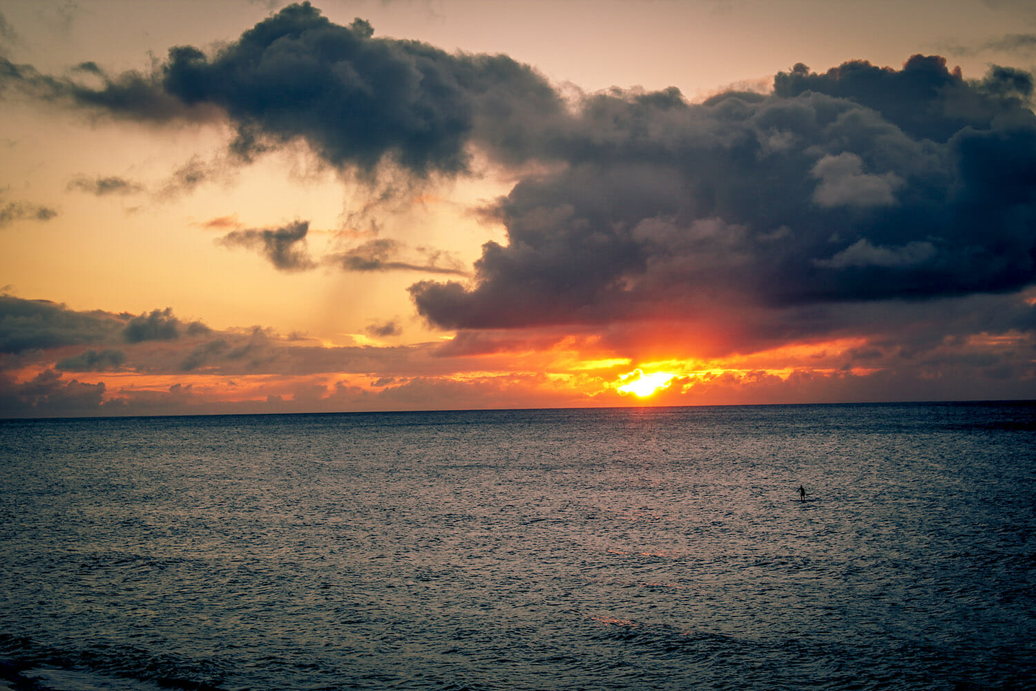 sunset clouds water sea iphotography lightroom