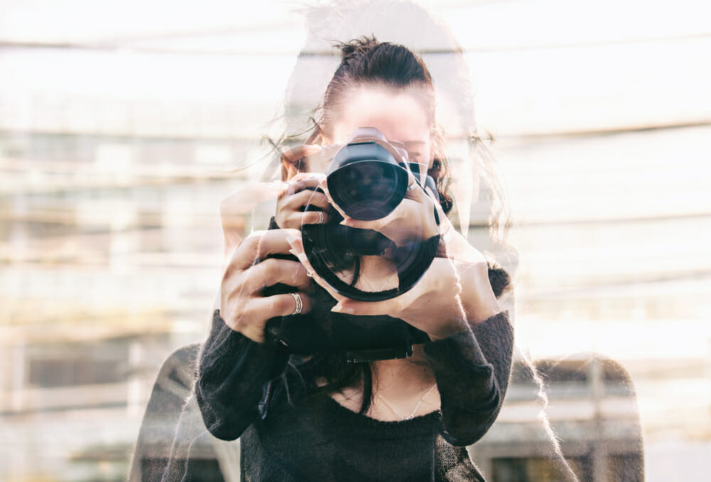 iphotography header title multiple exposure camera lense