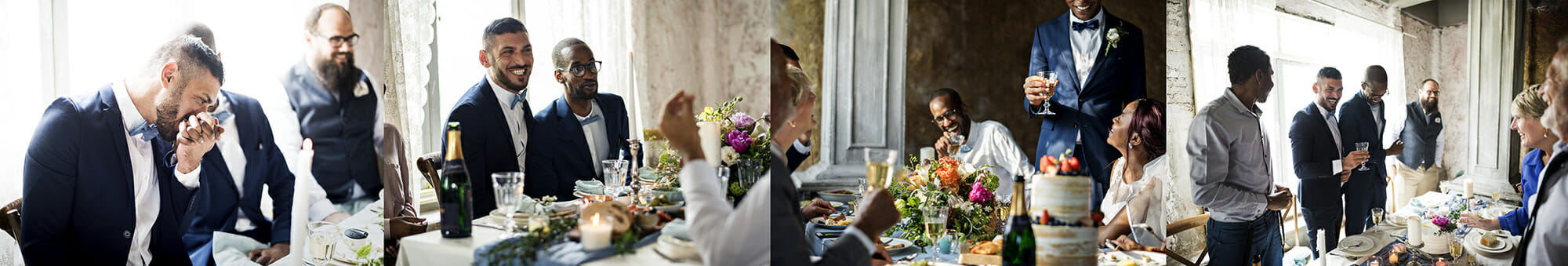 photographing the wedding speech