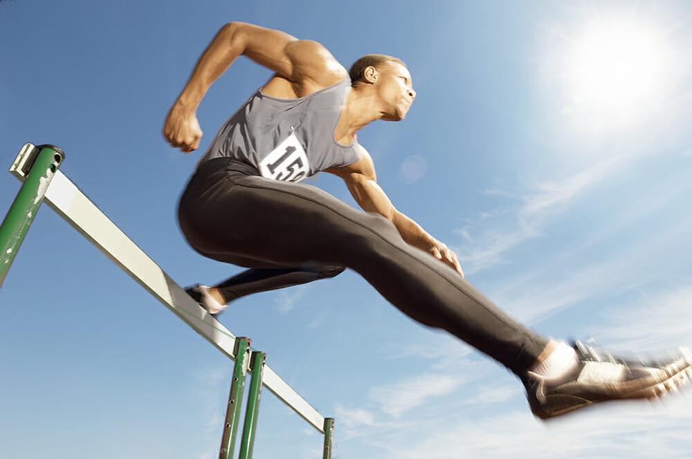 jumper high jump hurdle