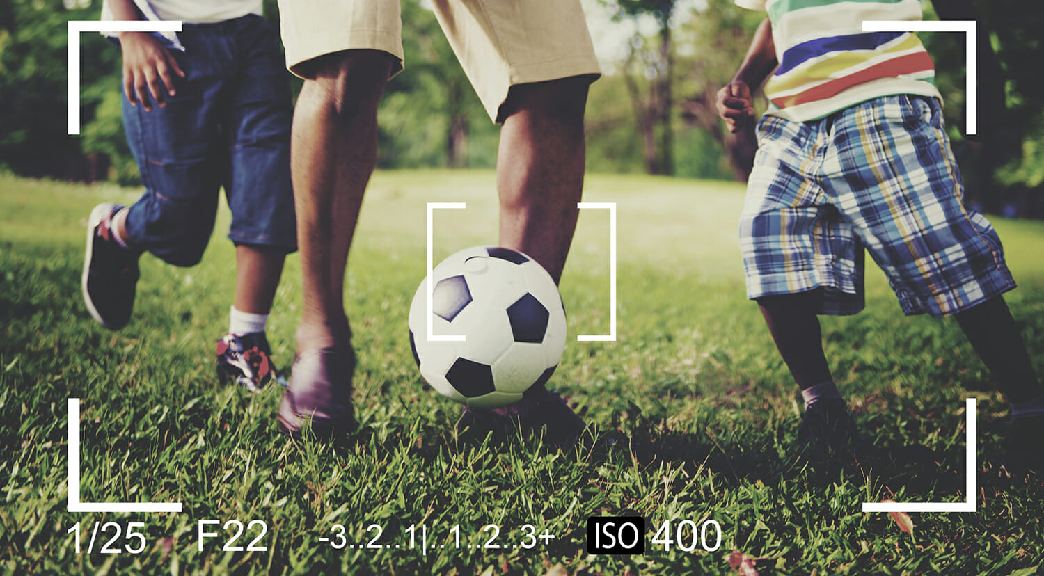 capture football how to take pictures