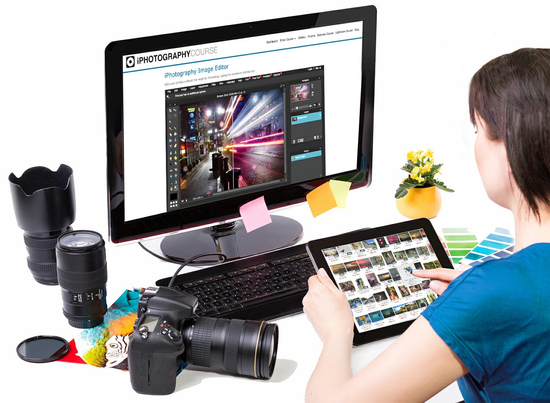 computer email upload camera basic editing