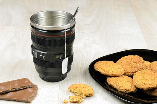 Brexit Photography photography lens coffee tea travel mug gift photographers cookies