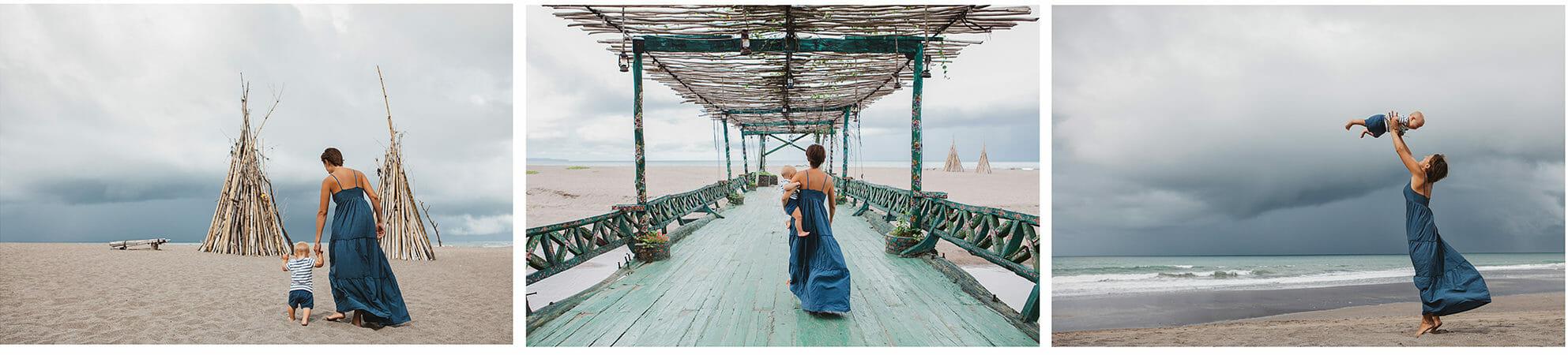 magical photograph snapshot beach jetty pier