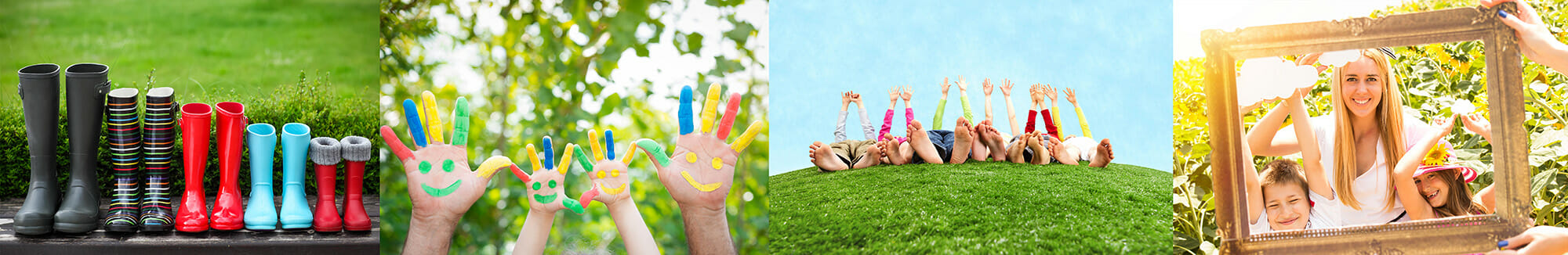 wellies family hand painting red blue yellow fingers feet portrait iphotography