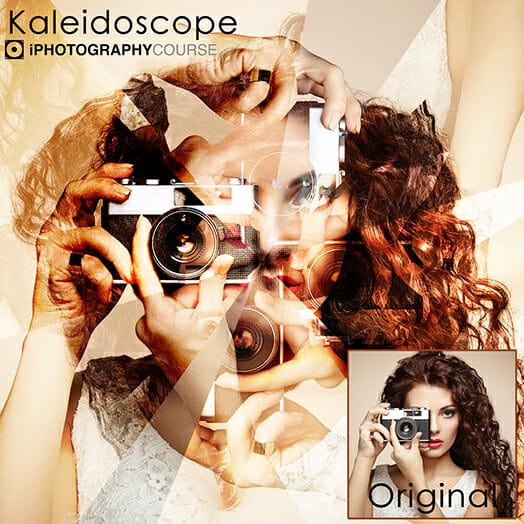 iphotography kaleidoscope action photoshop