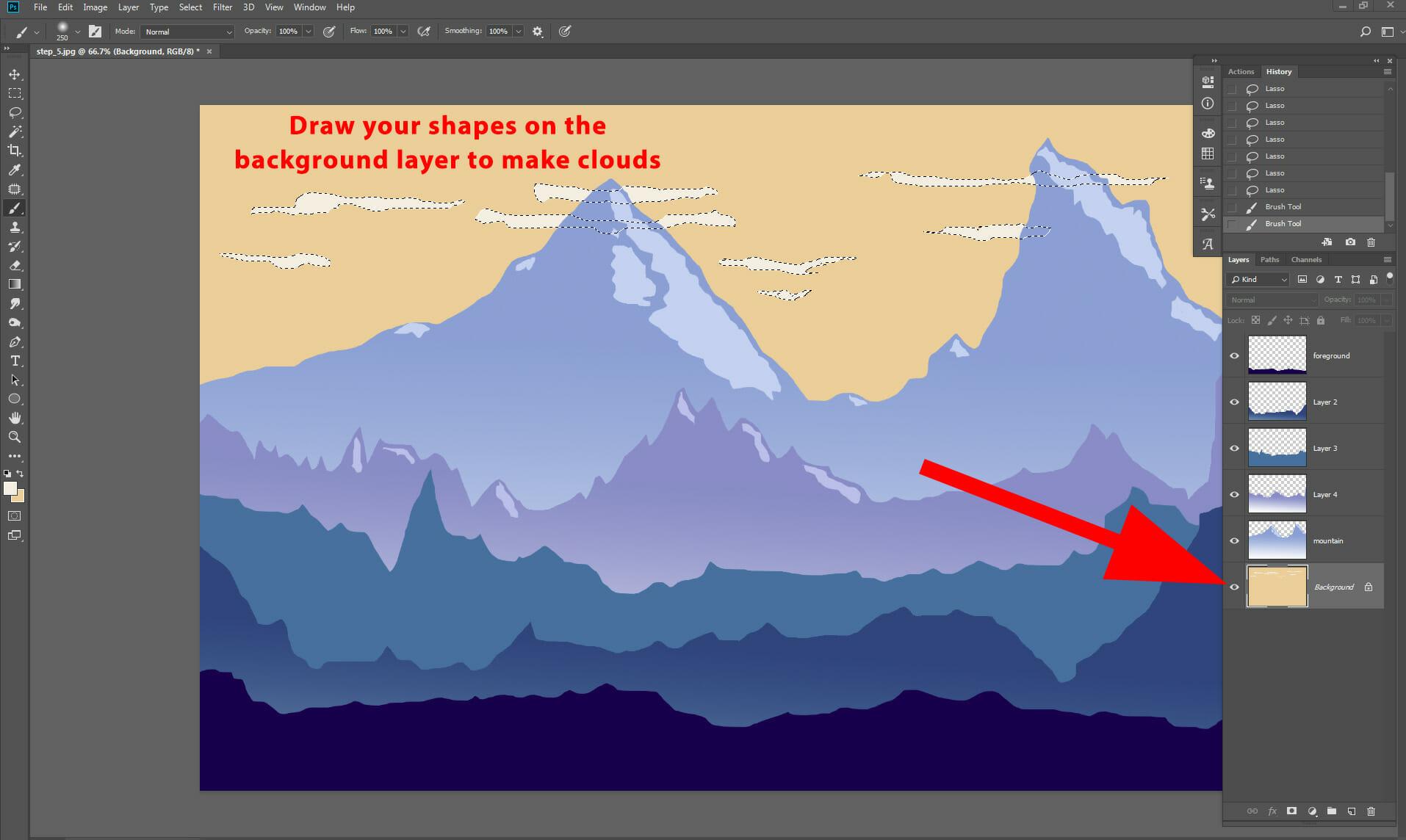 photoshop screen capture guide iphotoshop training course 2d landscape