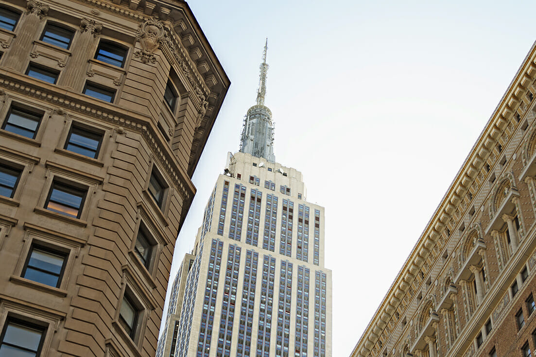 empire states building iphotography