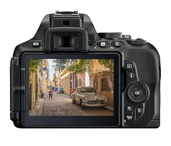 camera screen colour raw file type