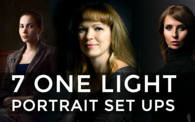 7 Quick Portraits with One Light