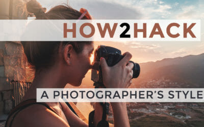 How to Hack a Photographer's Style